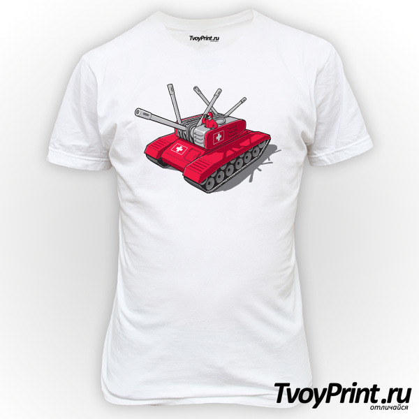 Футболка Швейцарский танк