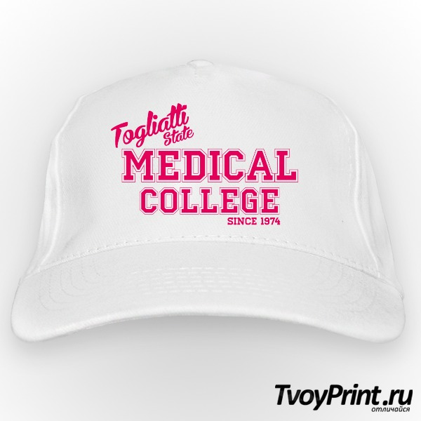 Бейсболка Медицинский колледж