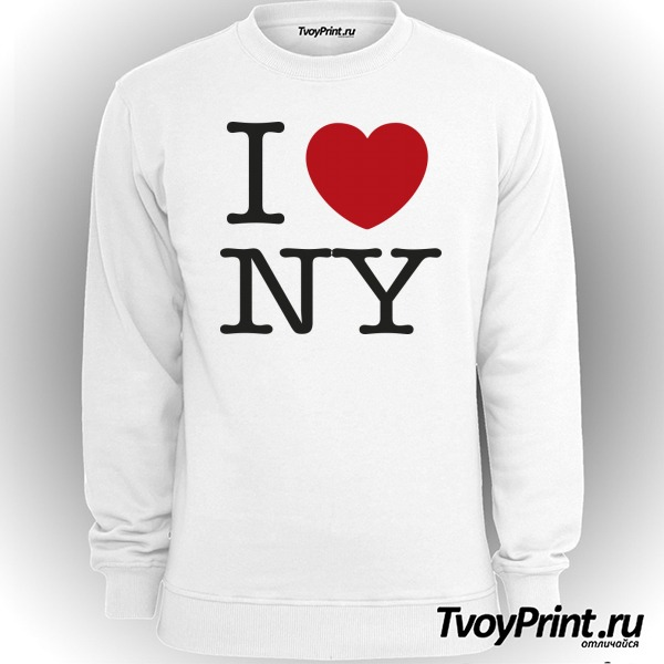 Свитшот I love New York