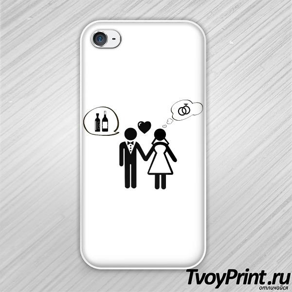 Чехол iPhone 4S Мысли
