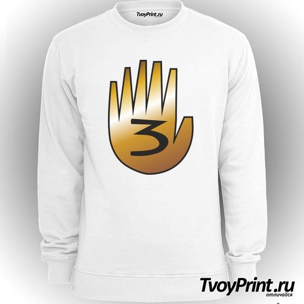 Свитшот шестипалая рука Гравити фолз