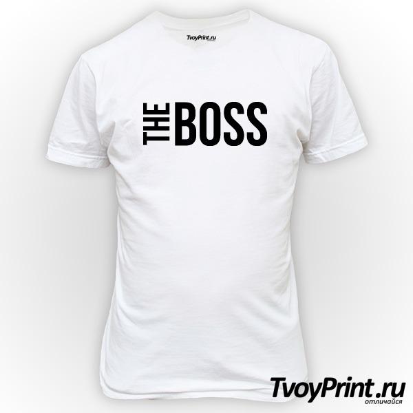 Футболка the boss