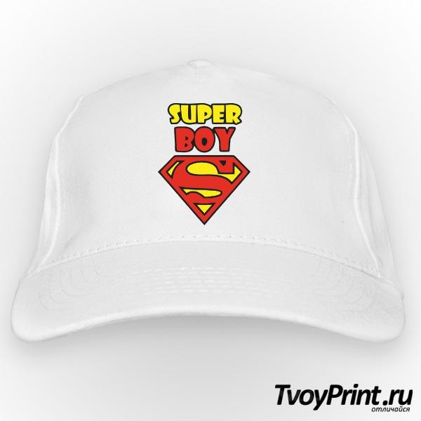 Бейсболка Super boy