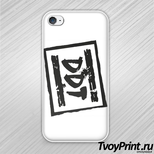Чехол iPhone 4S Рок над Волгой (DDT)