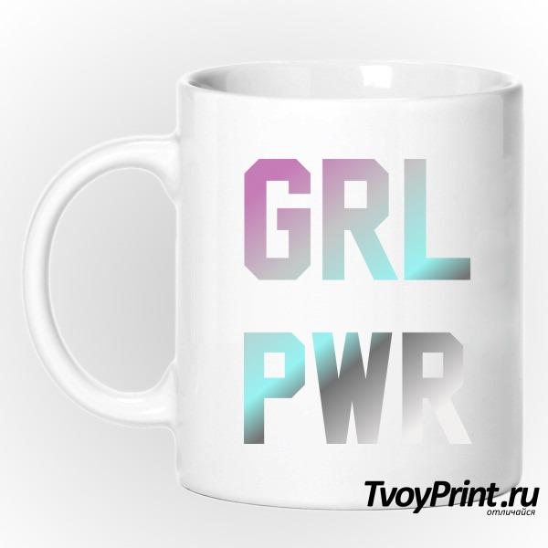 Кружка grl pwr
