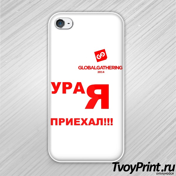 Чехол iPhone 4S Global Gathering (1)