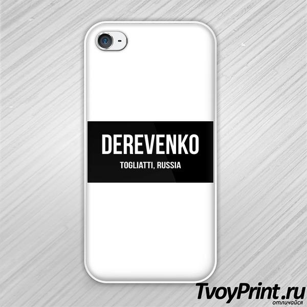 Чехол iPhone 4S Тольятти Деревенька