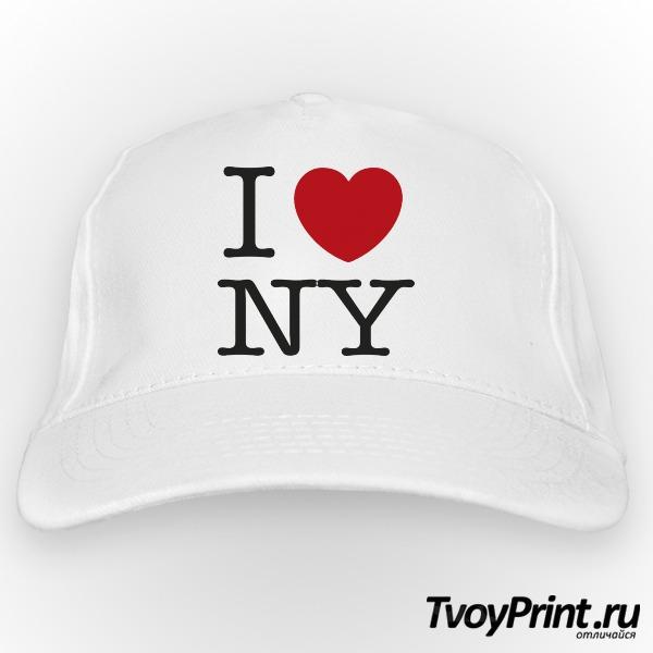 Бейсболка I love New York