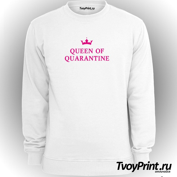 Свитшот QUEEN OF QUARANTINE