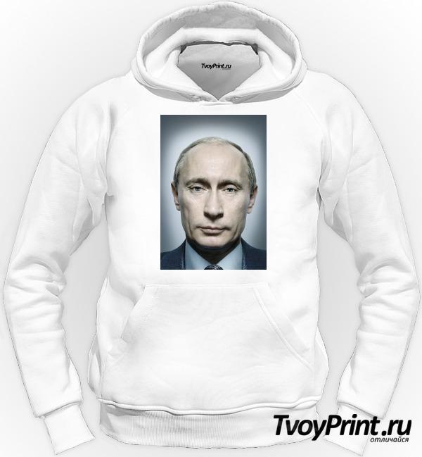 Толстовка с Путиным портрет
