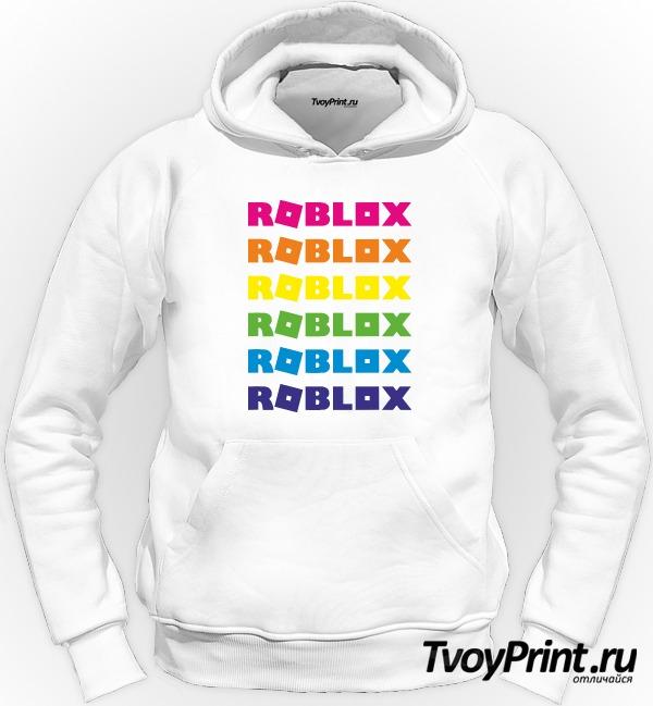 Толстовка roblox радуга