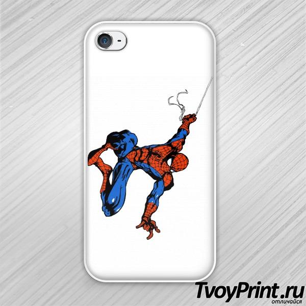 Чехол iPhone 4S Spiderman