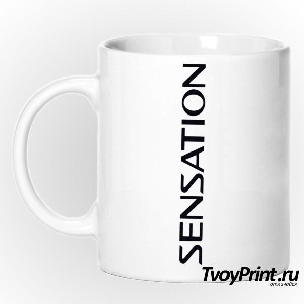 Кружка Sensation вертикальный