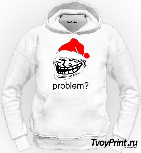Толстовка новогодний Trollface