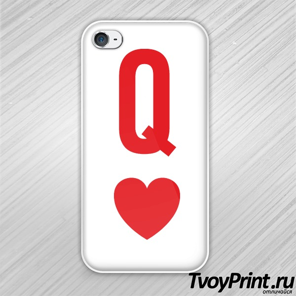 Чехол iPhone 4S queen