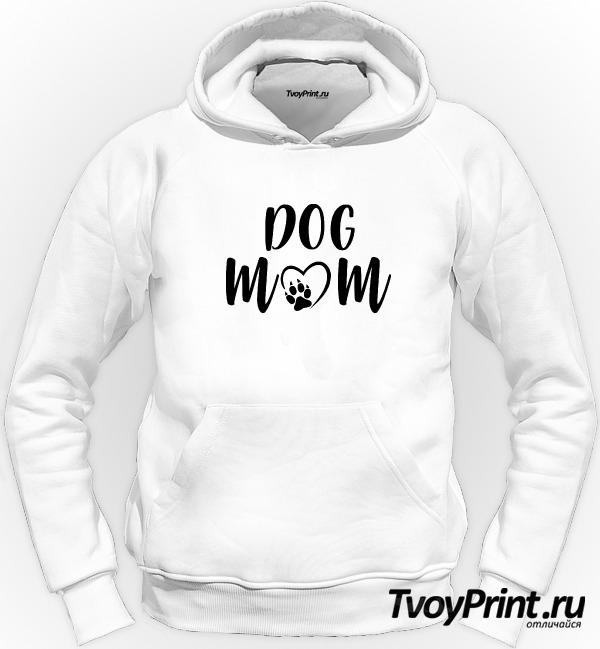 Толстовка Dog mom