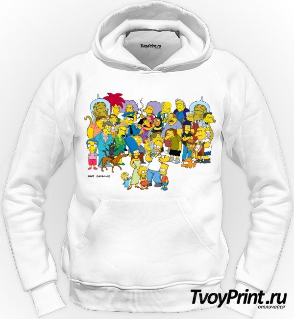 Толстовка Simpsons 2 Симпсоны