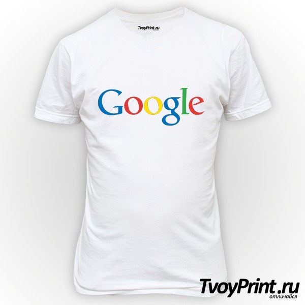 Футболка Google (лого)