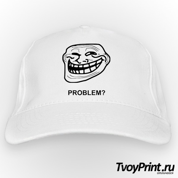 Бейсболка Trollface