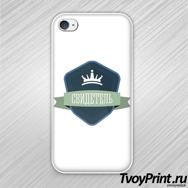 Чехол iPhone 4S Свидетель