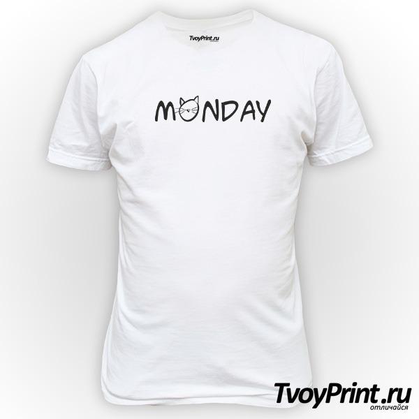 Футболка Monday