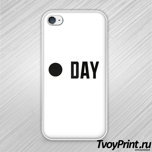 Чехол iPhone 4S  day & night (day)