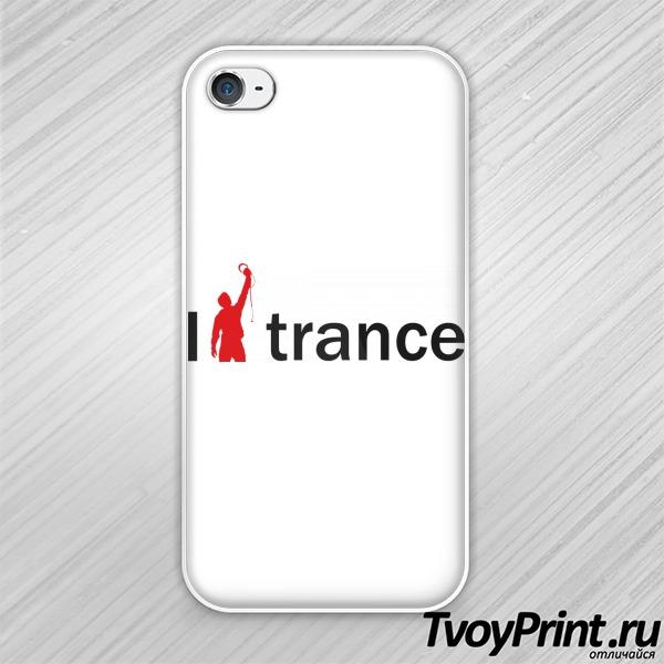 Чехол iPhone 4S Армин и транс