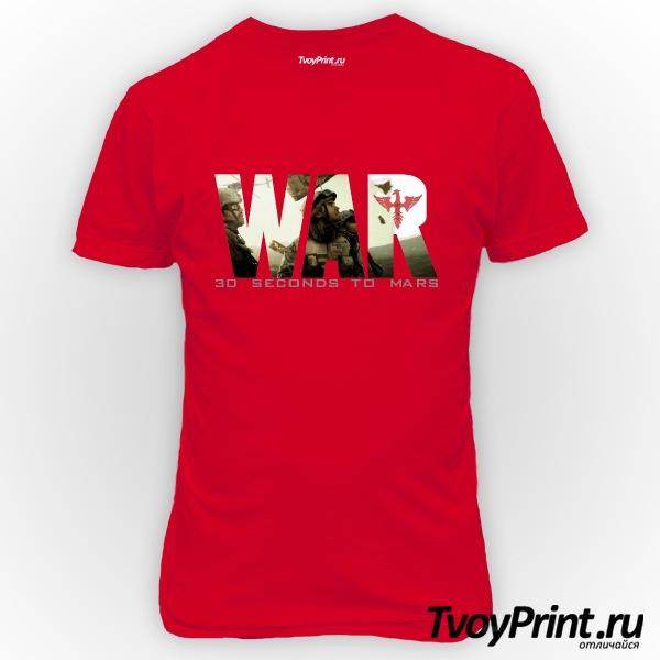 Футболка 30 seconds to mars War