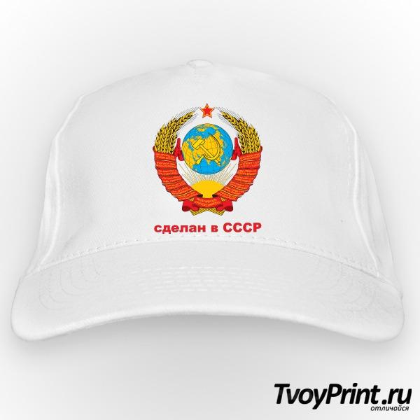 Бейсболка Сделан в СССР...