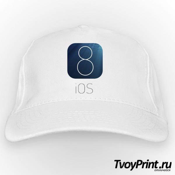 Бейсболка IOS 8