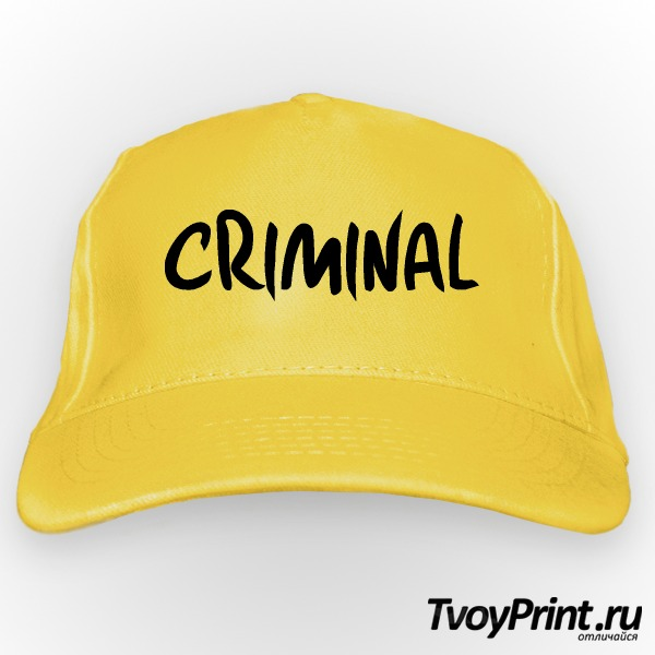 Бейсболка CRIMINAL