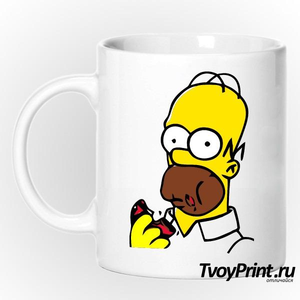 Кружка Гомер с пончиком