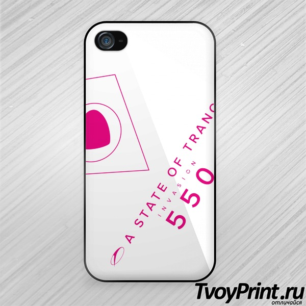 Чехол iPhone 4S A state of trance 550
