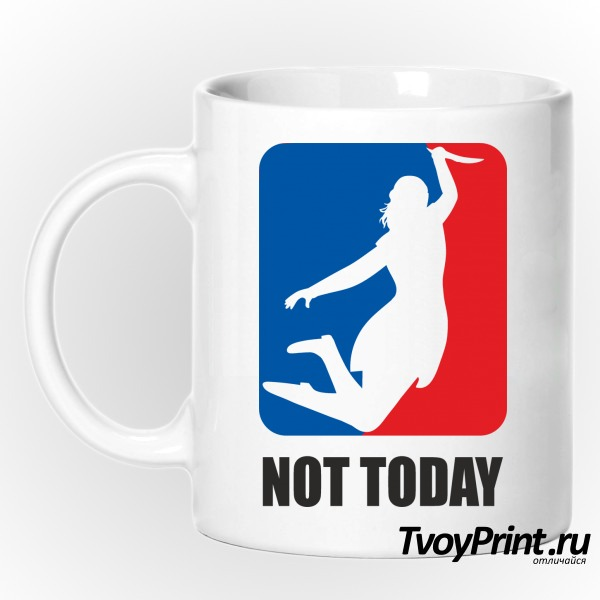 Кружка no today (nba)