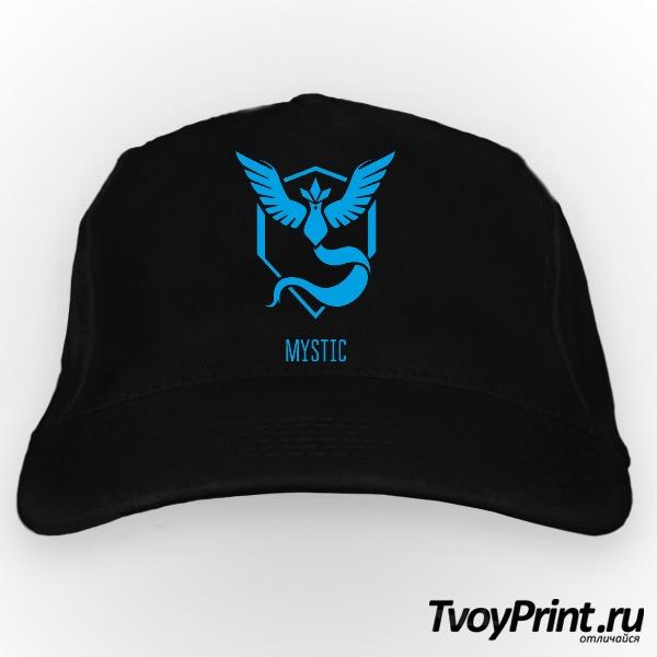 Бейсболка Blue Team Mystic Pokemon Go Синяя команда