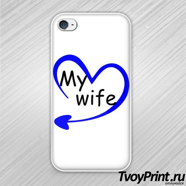 Чехол iPhone 4S моя жена