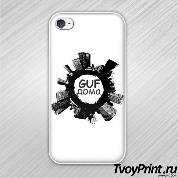 Чехол iPhone 4S GUF дома