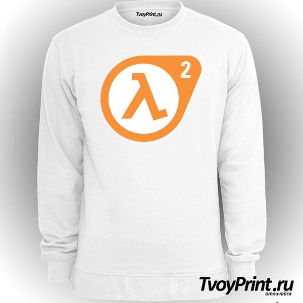 Свитшот Half Life 2 logo