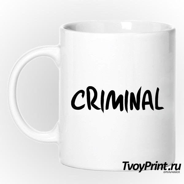 Кружка CRIMINAL