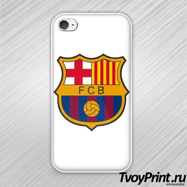 Чехол iPhone 4S Барселона