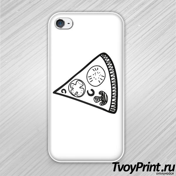 Чехол iPhone 4S Кусок из пиццы