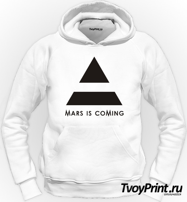 Толстовка 30 seconds to mars is coming