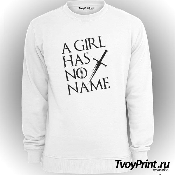 Свитшот У девочки нет имени