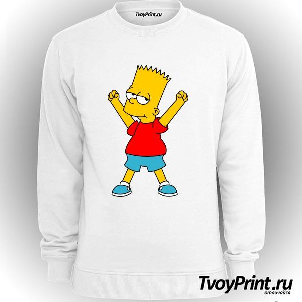 Свитшот Барт Симпсон
