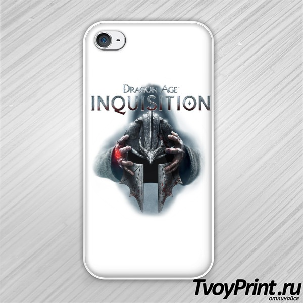 Чехол iPhone 4S Dragon Age Inquisition Шлем