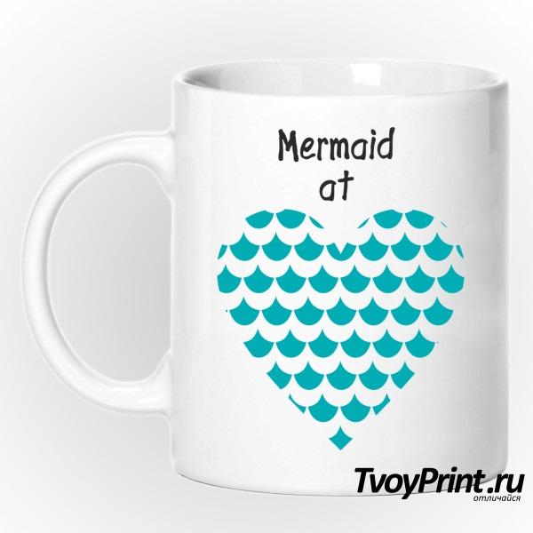 Кружка Mermaid at love