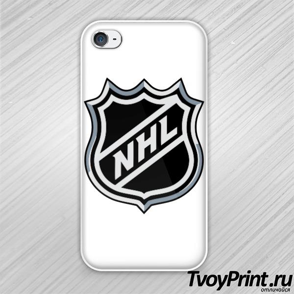 Чехол iPhone 4S NHL