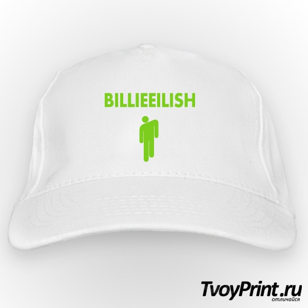 Бейсболка Billie Eilish logo