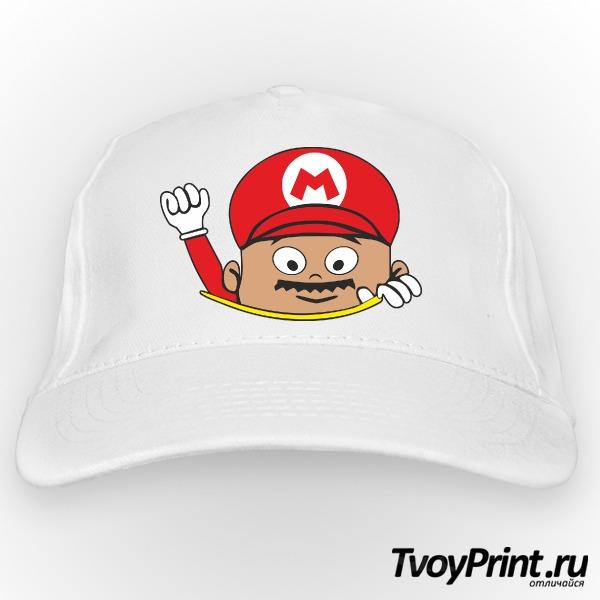 Бейсболка Super Mario
