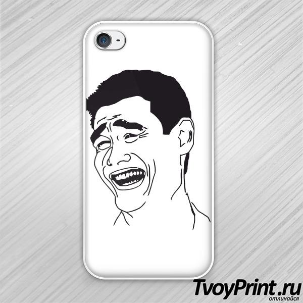 Чехол iPhone 4S Яо-Минг